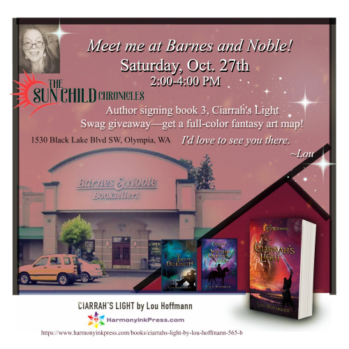 Meet Lou Hoffmann at B&N: Ciarrah's Light book signing