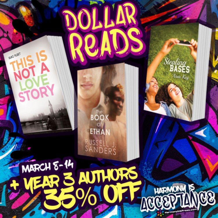 Dollar Reads: Year 3 And 35% Off Titles by Authors Who Published Year 3