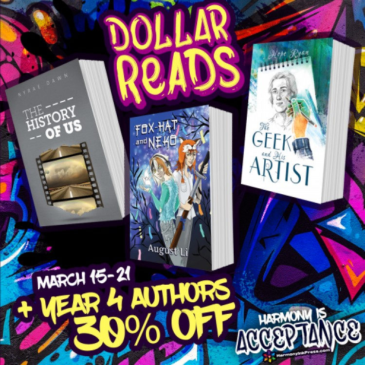 Dollar Reads: Year 4 And 30% Off Titles by Authors Who Published Year 4