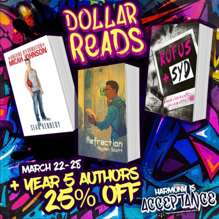 Dollar Reads: Year 5 And 25% Off Titles by Authors Who Published Year 5