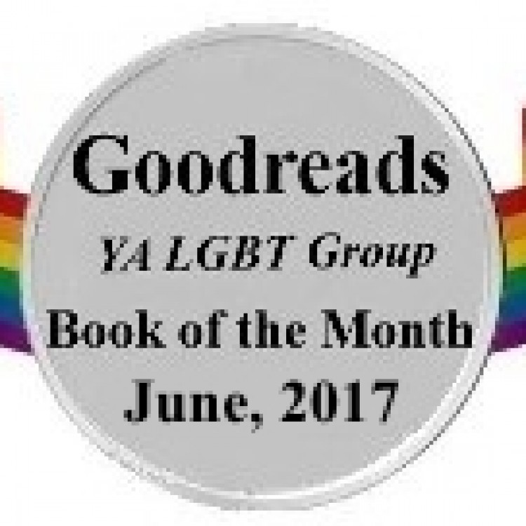Goodreads June 2017 YA LGBT Group Book of the Month!