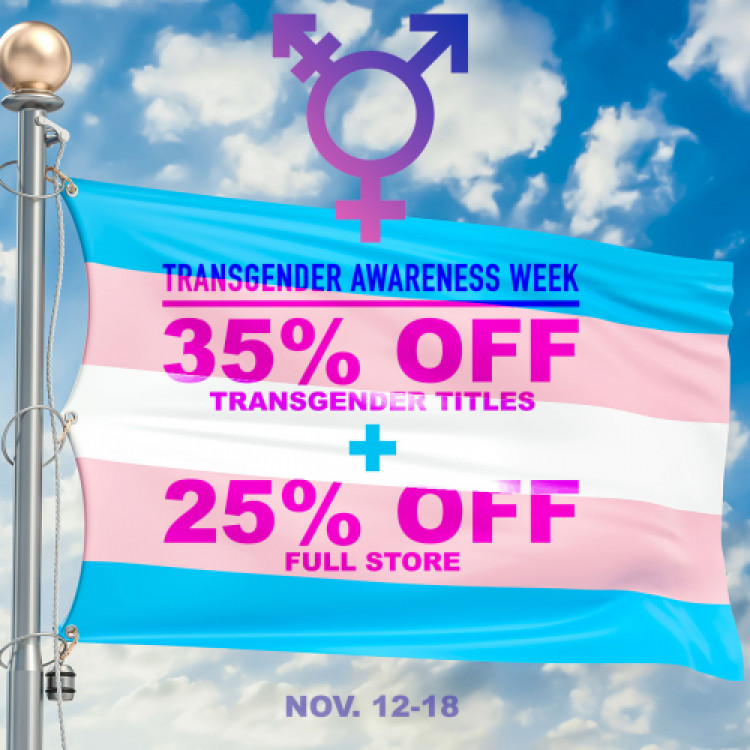 35% Off Transgender Titles + 25% Off Full Store