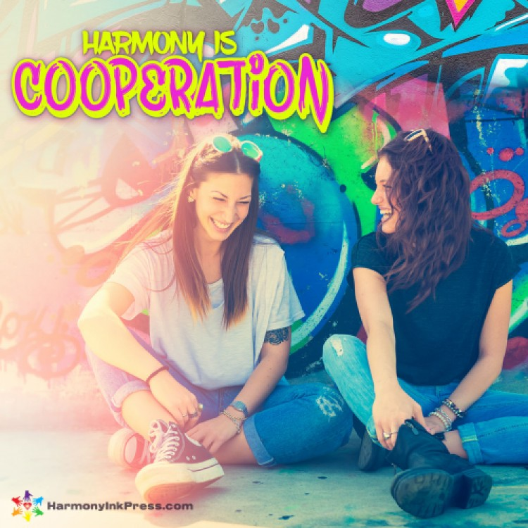 Harmony Is...Cooperation by Gene Gant